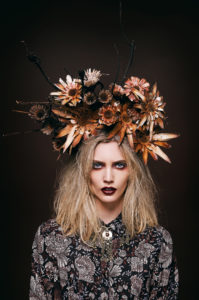Photography by Marnus Meyer,Makeup and hair by Tremayne West, Headpieces by Tremayne West, Styling by Jelena Jablanovic